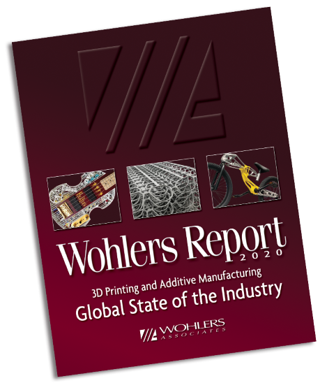 Wohlers Report 2020 cover